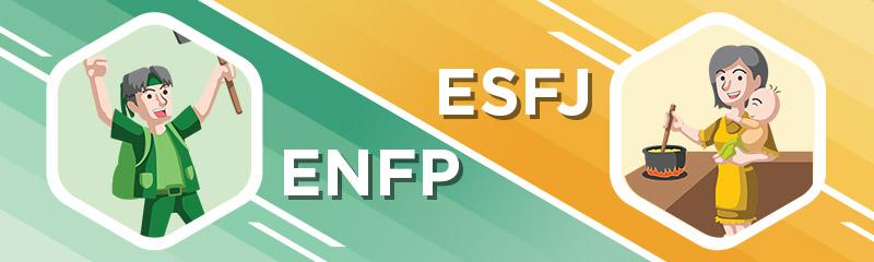 ENFP - ESFJ Relationship