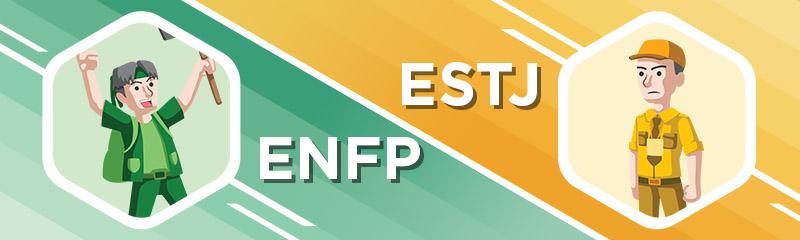 ENFP - ESTJ Relationship