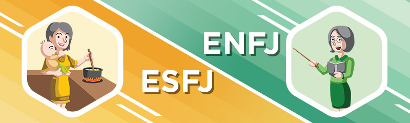ESFJ - ENFJ Relationship