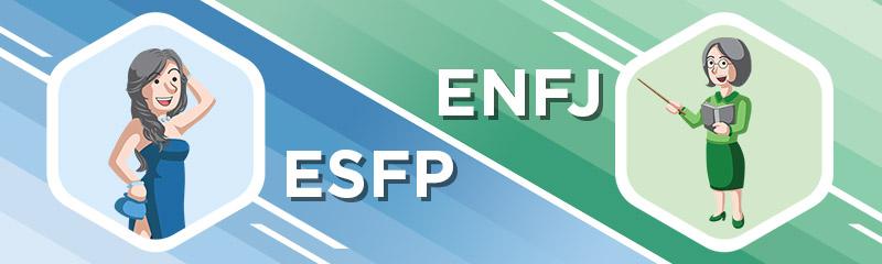 ESFP - ENFJ Relationship