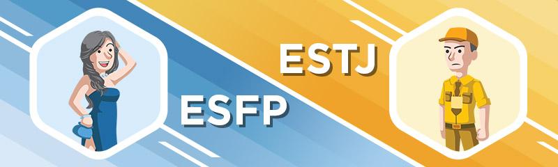 ESFP - ESTJ Relationship