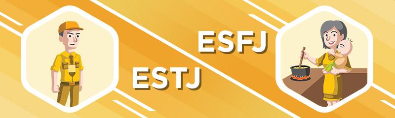 ESTJ - ESFJ Relationship