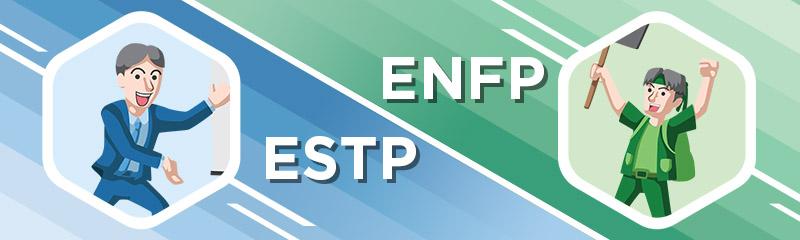 ENFP ja ESTP dating
