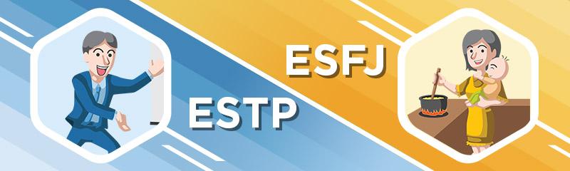 ESTP - ESFJ Relationship