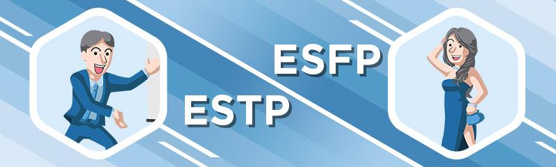 Image result for ESFP ESTP
