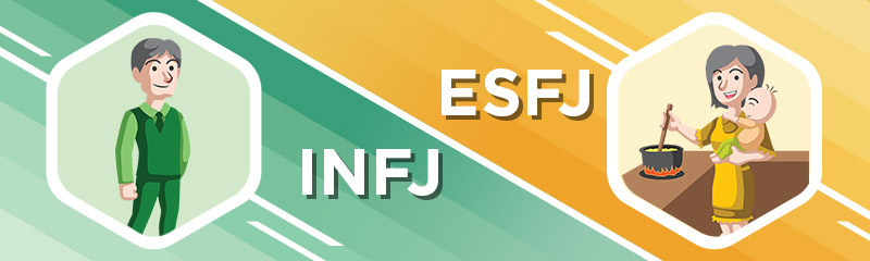 INFJ - ESFJ Relationship