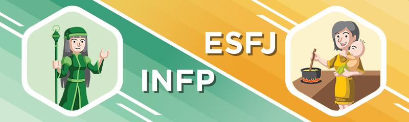 INFP - ESFJ Relationship