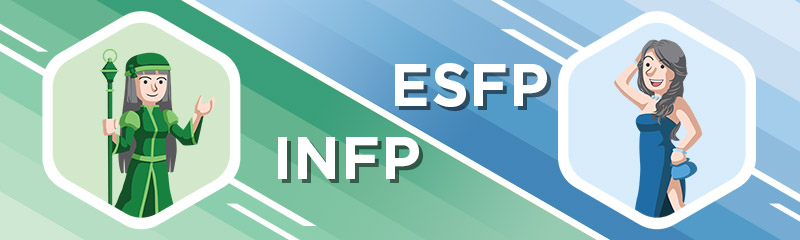 Building the INFP - ESFP Relationship - Personality Central