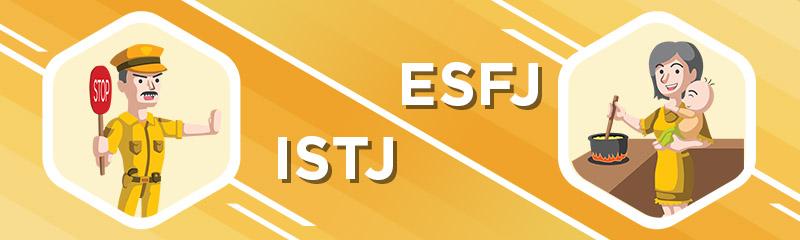 ISTJ - ESFJ Relationship